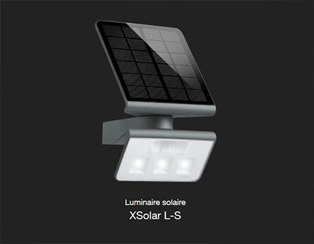 STEINEL – des luminaires solaires pour Professionnels