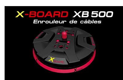 RUNPOTEC – X-BOARD – Dérouleur de câble